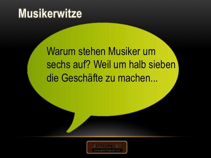 Musikerwitze