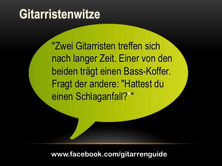 Gitarristenwitz