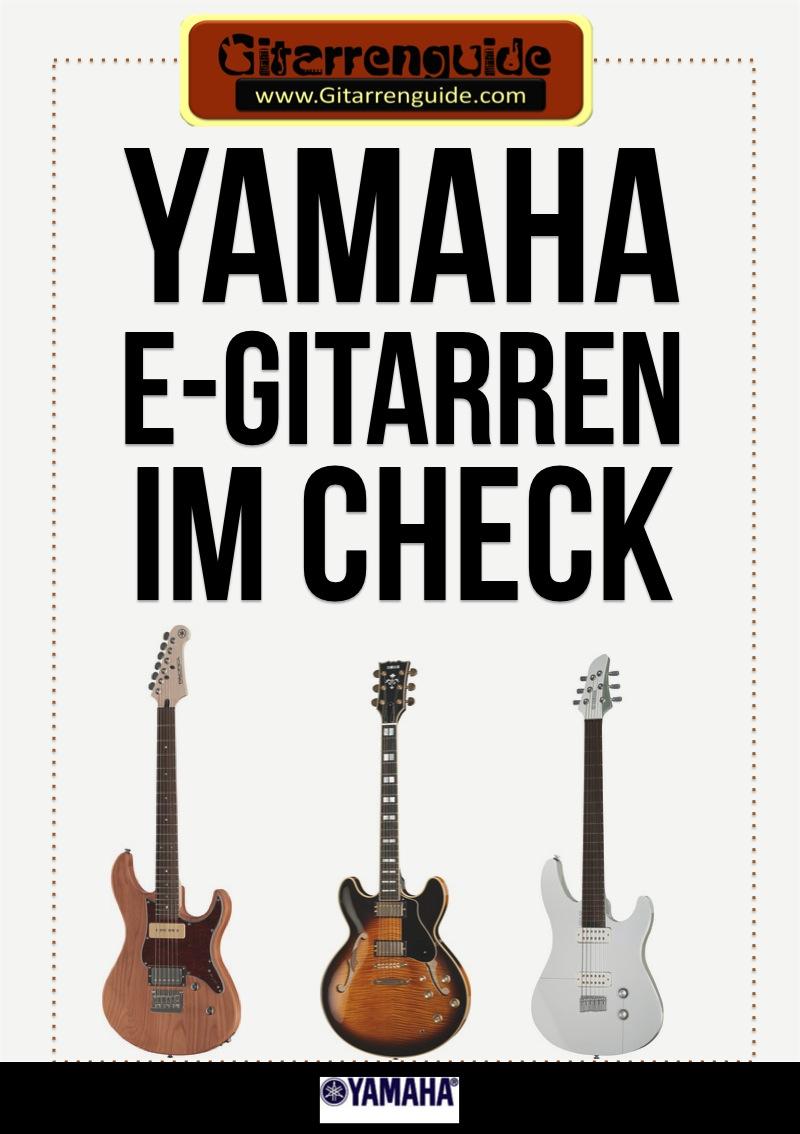 Yamaha E-Gitarren