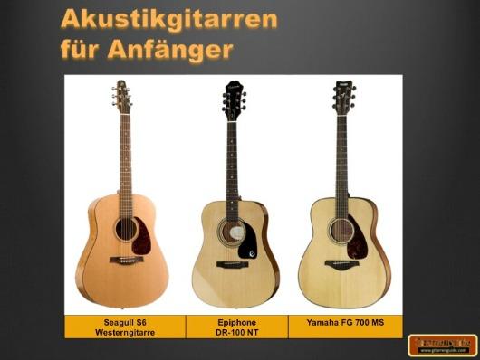 Anfänger Gitarren Akustik
