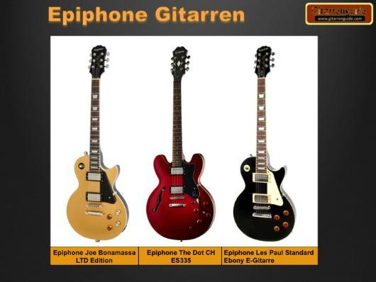 Epiphone Gitarren