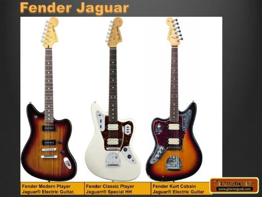 Fender Jaguar Gitarren