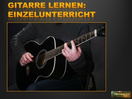 Gitarrenkurs Einzelunterricht