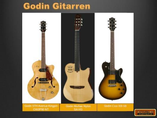 Godin Gitarren
