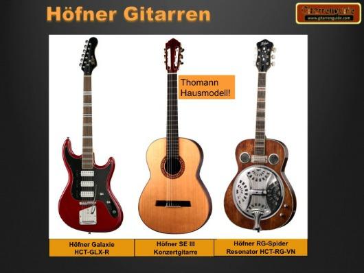 Hoefner Gitarren