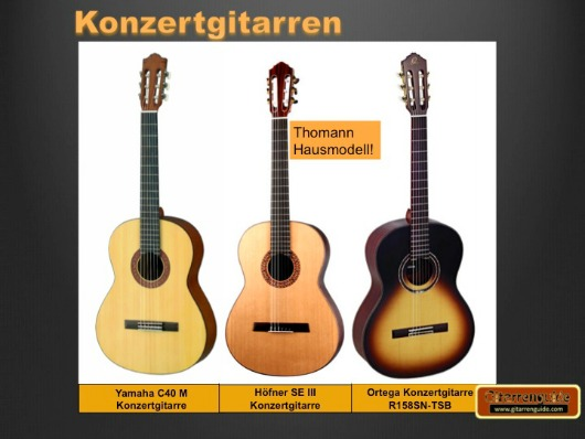 konzertgitarre die klassische guitar im test. Black Bedroom Furniture Sets. Home Design Ideas
