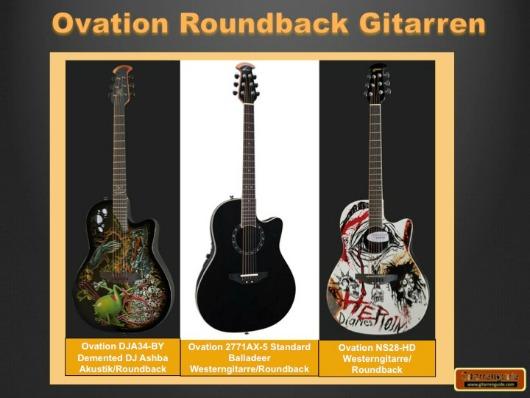 Ovation Roundback Gitarren