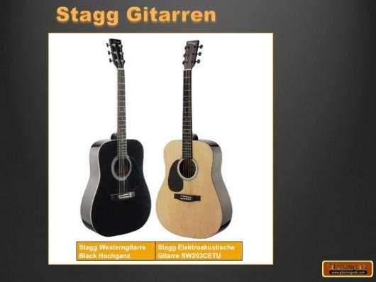 Stagg Gitarren