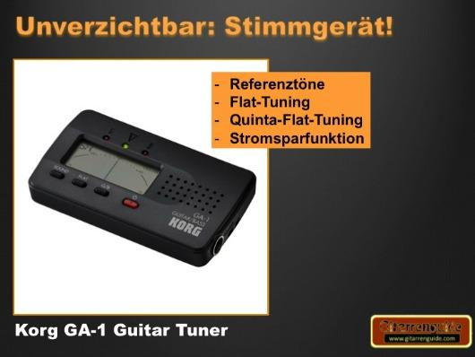 Korg GA-1 Stimmgerät