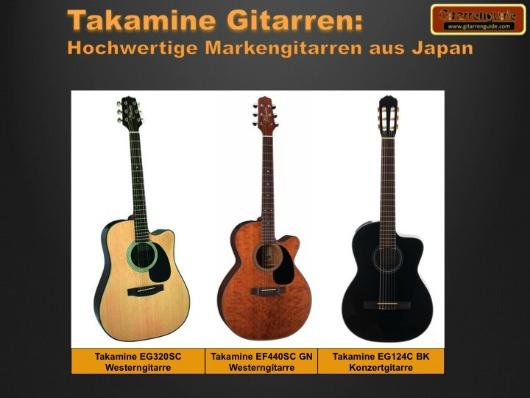 Takamine Gitarren