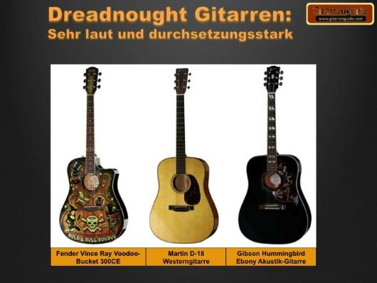 Dreadnought Gitarren