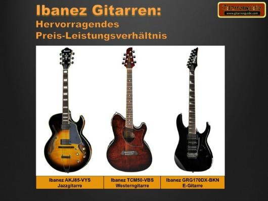 Ibanez Gitarren