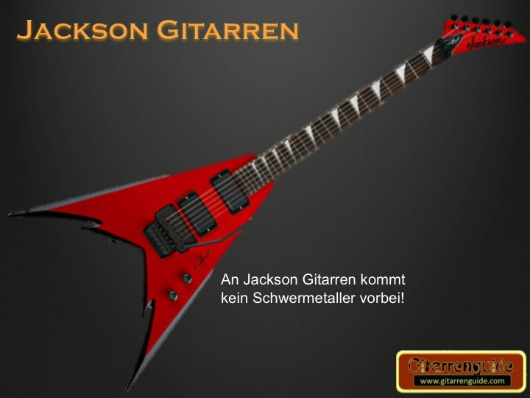 jackson gitarre rot