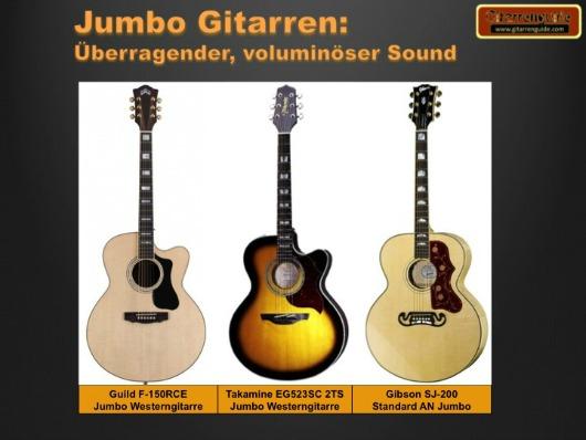 Jumbo Gitarren