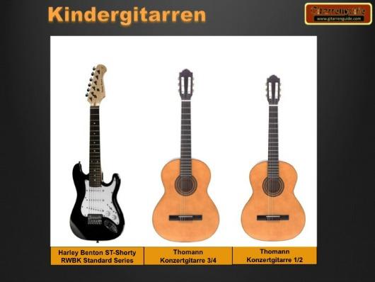Kindergitarren