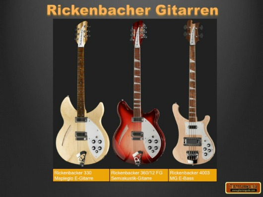 Rickenbacher Gitarren